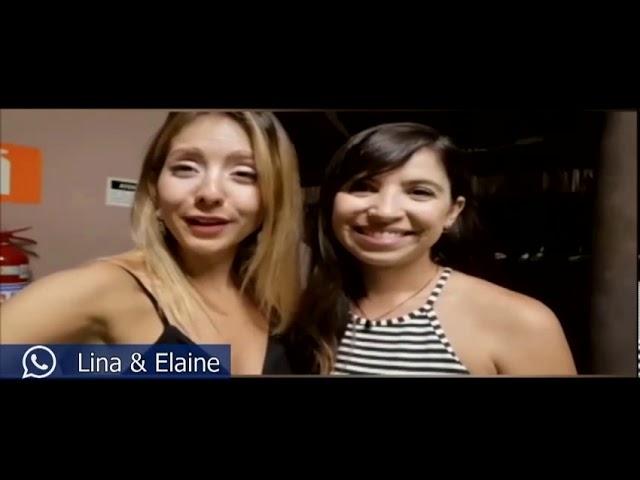 Amigos do Papo: Natyelem, Lina e Elaina