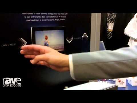 CEDIA 2015: Fibaro Home Intelligence Demos Its Swipe Gesture Control Pad