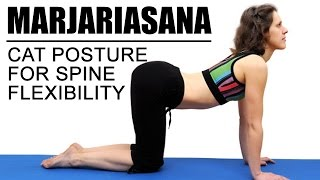 Marjariasana (Cat Pose) | for spine flexibility