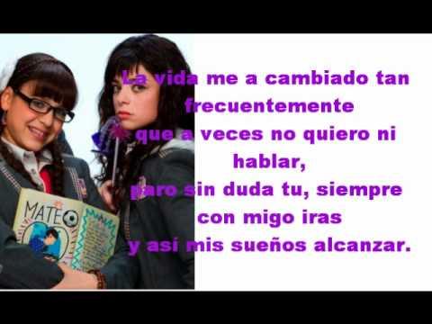Atrevete A Soñar - Danna Paola & Violeta Isfel - Lyrics