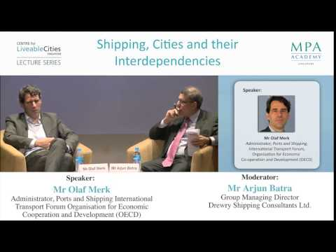 Opportunities for Singapore  as a port city