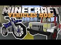 Minecraft ТРАНСПОРТ Мотоциклы Джипы и тд Обзор модов JurassicVehicles mp3