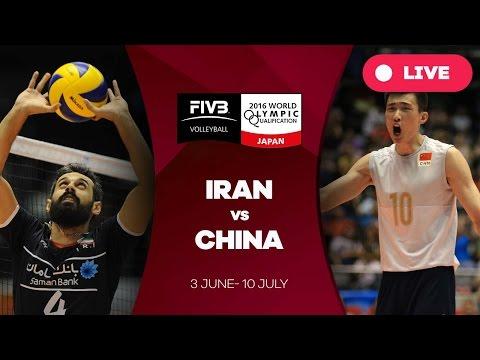 Iran v China - 2016 Men's World Olympic Qualification Tournament