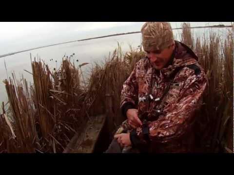 Chasse Du Gibier D'eau En Camargue 2012 .ducks Hunting