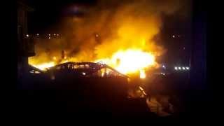 Pożar Żuromin część 4