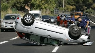 Accidentes impactantes en vivo, (Car crash compilation) Agosto 2014.