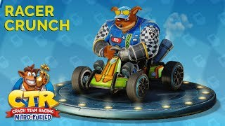 Crash Team Racing Nitro-Fueled | Playing as Racer Crunch