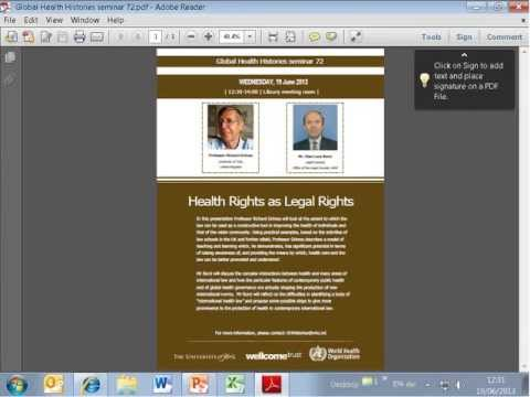 Global Health Histories seminar 72: Health Law
