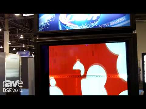 DSE 2014: LG-MRI Shows Off Its ThruVu Transparent Cooler Display