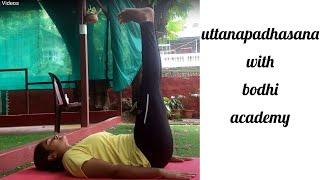 Uttanpadasana benefits-Double leg raised yoga pose,flat tummy & strong  | BODHI ACADEMY