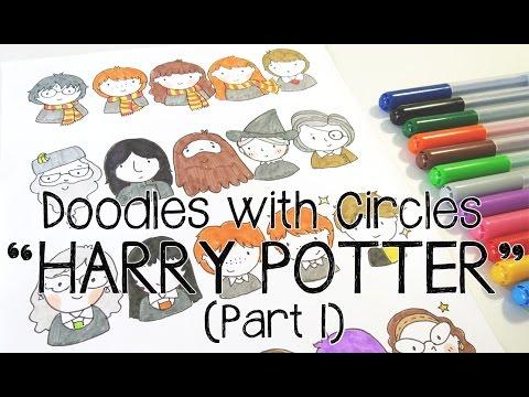 Kawaii Harry Potter Doodles (Part 1) | Doodles with Circles thumbnail