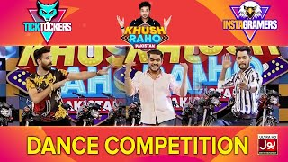 Dancing Competition In Khush Raho Pakistan Instagramers Vs Tick Tockers | Faysal Quraishi