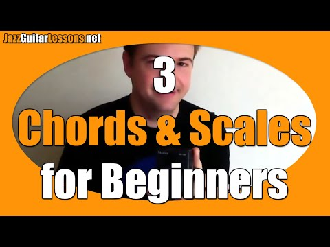Jazz Guitar Webinar #1 - Beginners: 3 Chords And 3 Scales To Get You Started
