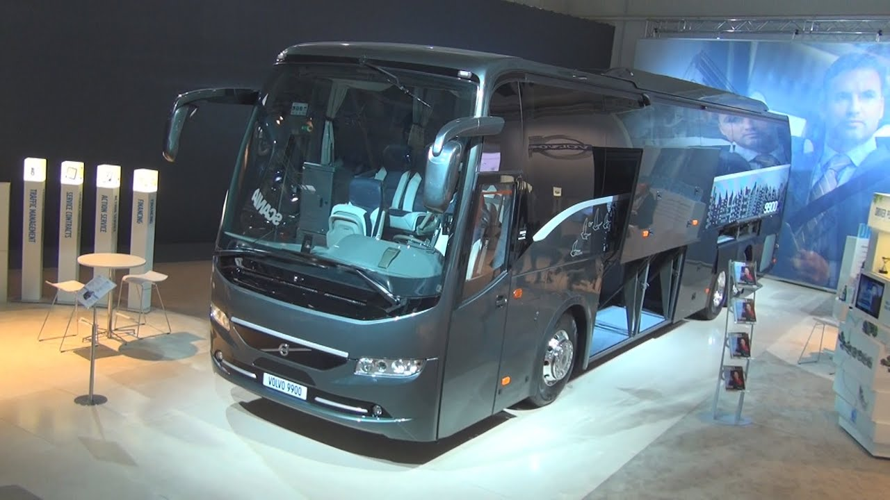 Volvo 9900 Bus Exterior and Interior in 3D 4K UHD - YouTube