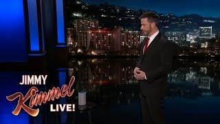 Jimmy Kimmel Gets to the Bottom of Alexa's Creepy Laugh