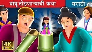 बांबू तोडणाऱ्याची  कथा   Tale of the Bamboo Cutter in Marathi   Marathi Goshti   Marathi Fairy Tales