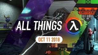 New 2D Half-Life Game, Exclusive Entropy: Zero 2 Footage and More - All Things Lambda (Oct 11 2018)
