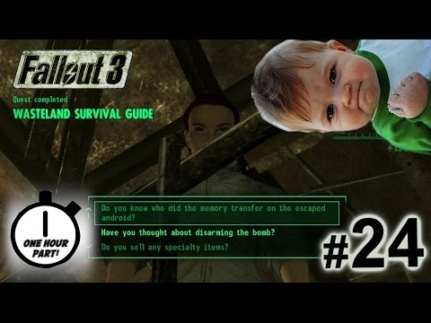 Fallout 3 Walkthrough Part 24 - COMPLETING THE SURVIVAL GUIDE!