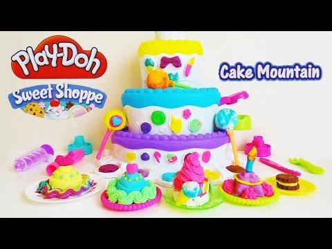 Play-Doh Sweet Shoppe Cake Mountain Playset Unboxing