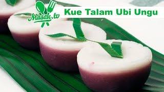 Kue Talam Ubi Ungu 365 | Jajanan #105