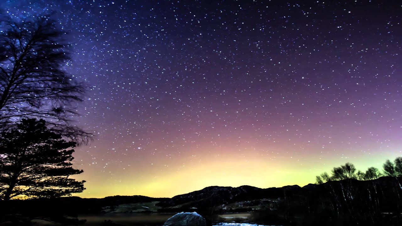 4k timelapse compilation of stars aurora borealis and milkyway youtube - 4k wallpaper download ...
