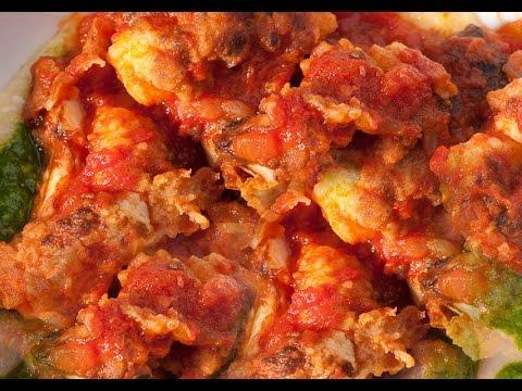 How to make CAULIFLOWER TOMATO CURRY Recipe in Telugu Photo Image Pic