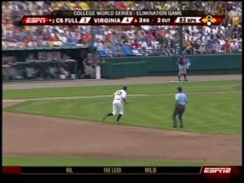 Virginia vs. Cal State-Fullerton - 2009 College World Series (baseball) Video