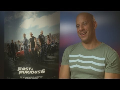 Fast and Furious 6: Vin Diesel's hilarious British accent and impersonation
