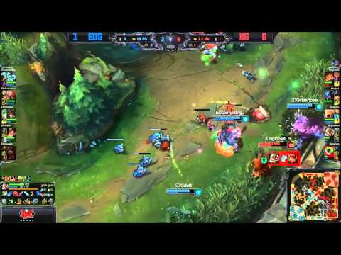 EDG Deft Has One of Those Games