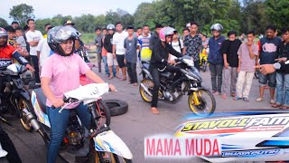 Drag race 201M mama muda tetap gass pull