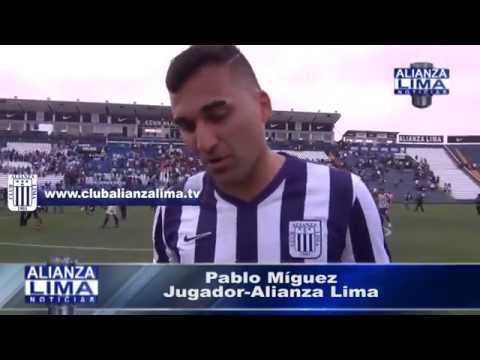 """Pablo Míguez: """"Era muy importante ganar este partido"""""""