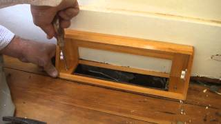 How To Install A Heat Vent Cover