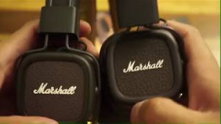 Real vs Fake Marshall Major II