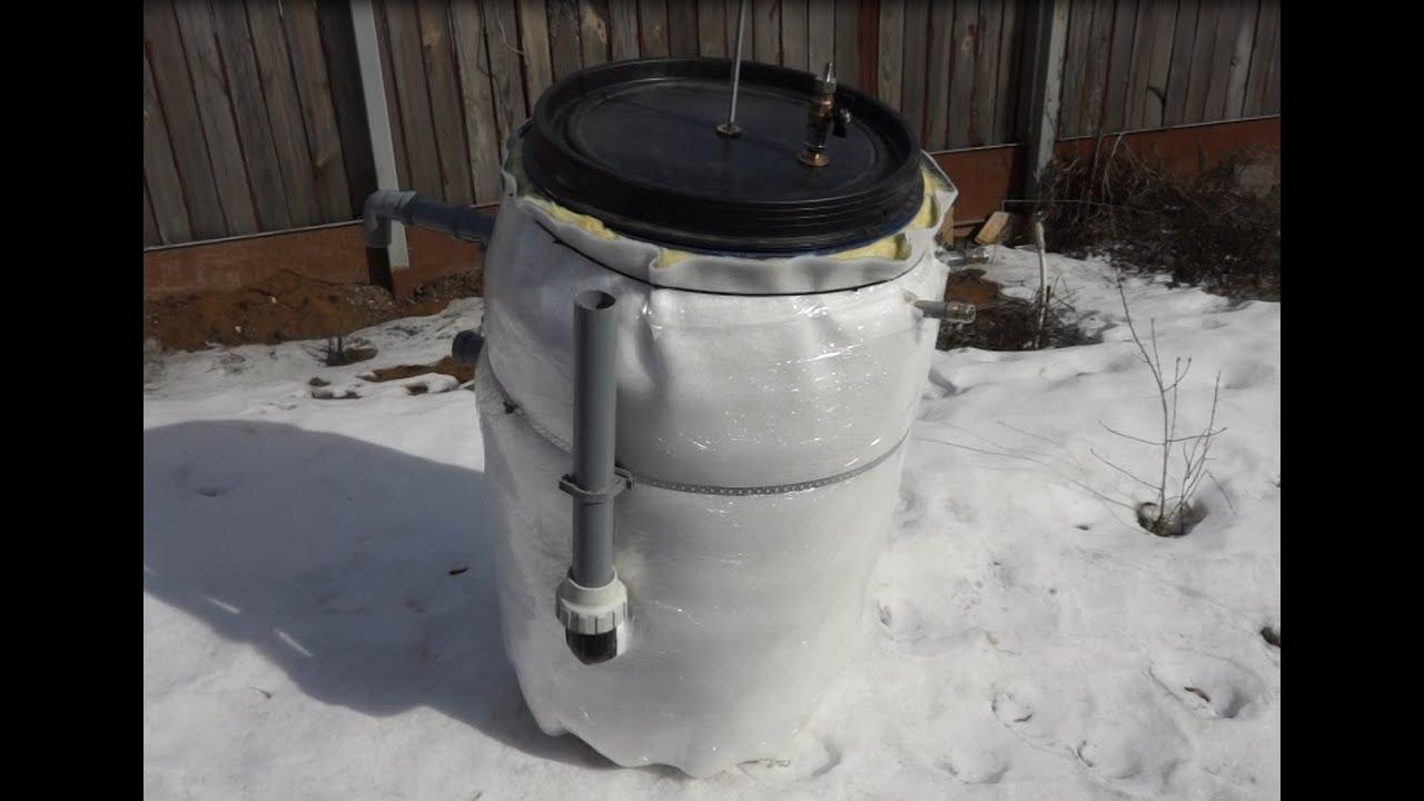 Биогаз своими руками чертежи видео