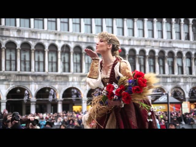 Carnevale di Venezia 2014 - Premiazione della Maria e Svolo del Leon - Video Ufficiale