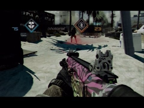 Call of Duty Ghosts: Camuflaje secreto (rainbow camo ghosts)