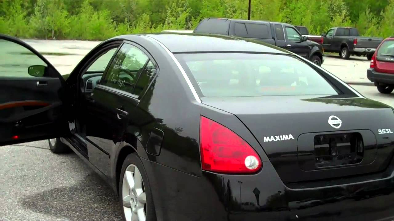 2004 nissan maxima 3 5 6950 youtube. Black Bedroom Furniture Sets. Home Design Ideas