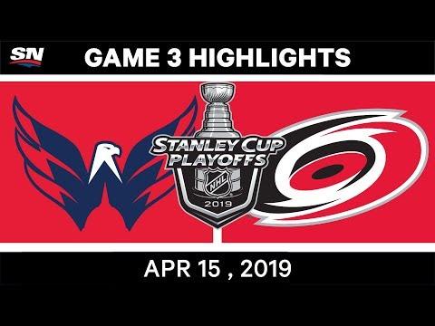 NHL Highlights | Capitals Vs Hurricanes, Game 3 – April 15, 2019