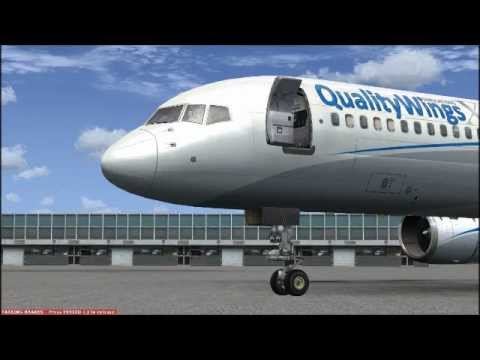 Quality Wings Simulations Boeing 757 Review
