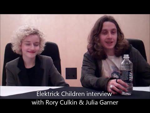 Rory Culkin & Julia Garner interview Electrick Children SXSW