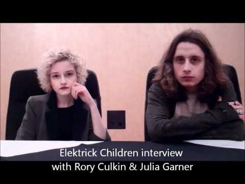 Rory Culkin & Julia Garner interview Electrick Children SXSW
