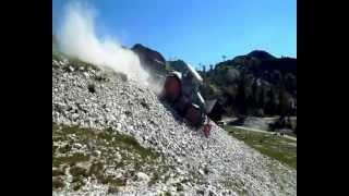 Fendt 828   Plaisance BF600-2000 crushing stones