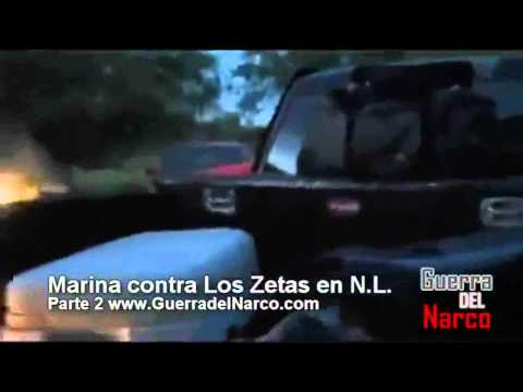 Mexican Marines vs Los Zetas Cartel