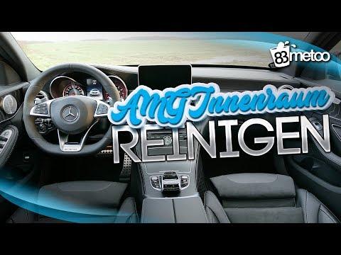 AMG C63s Innenraum reinigen & Alcantara Lenkrad reinigen und pflegen
