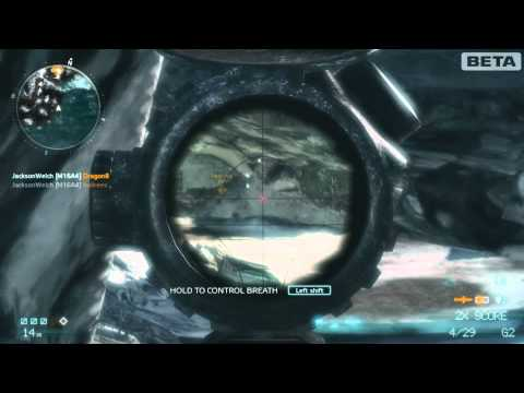 Medal of Honor - FULL pointstreak as a sniper. (All kill streak rewards)