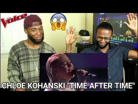 The Voice 2017 Chloe Kohanski  The Playoffs: Time After Time REACTION