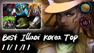 Best Illaoi Korea Top vs Camille | Korea High Elo
