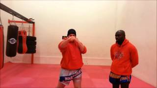 How to do a Jab and right cross, shantiacademy.co.uk
