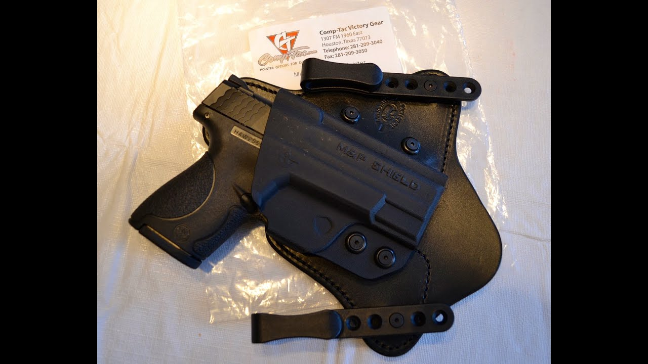 Best Holsters for MampP Shield 9mm and 40  Top Holster