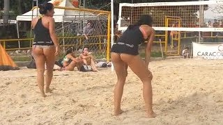 Colombian Women's Beach Volleyball